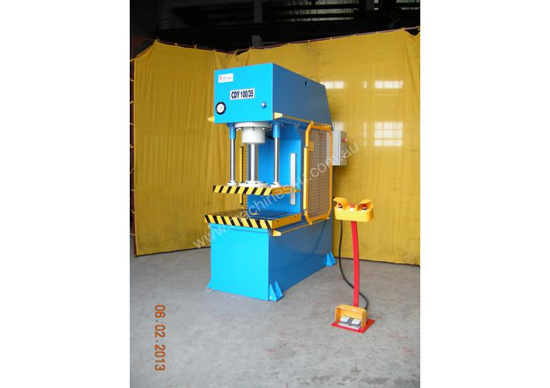 HEAVY DUTY INDUSTRIAL OPEN FRONT PRESS 80T~200TON