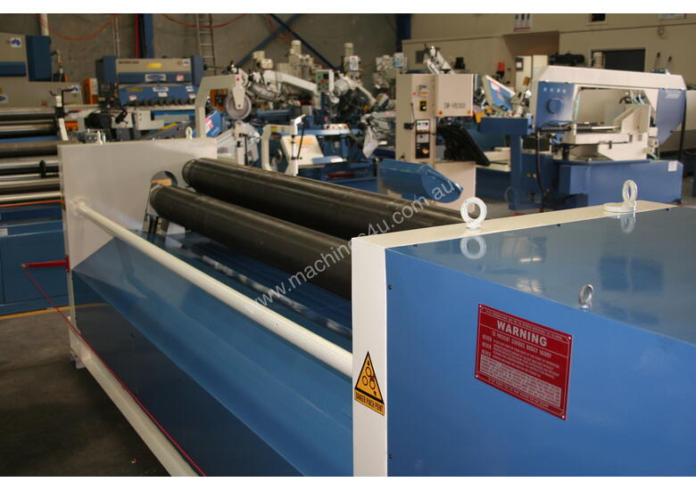 2500mm x 800mm Pinch Rollers With Power Adjustment