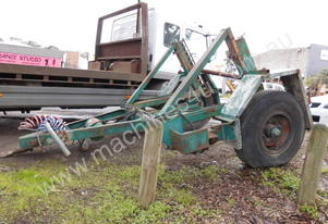 4ton drum trailer , air brakes , hyd self loader