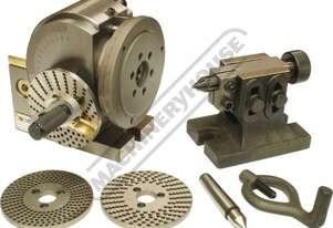 BS-0 Vertex Dividing Head - Semi Universal 100mm Centre Height Suits 130mm 3-Jaw Chuck