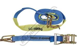 1500kg Ratchet Tie Down Strap 6 Metre x 35mm