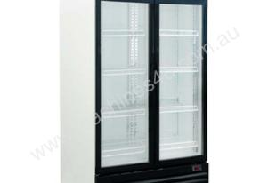 Exquisite DC1000P Double Door Display Fridge - 1000 Litre