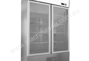 F.E.D. LD1400SCG2B -5 to +5 ½C Two Large Door SS Display Fridge BOTTOM UNIT