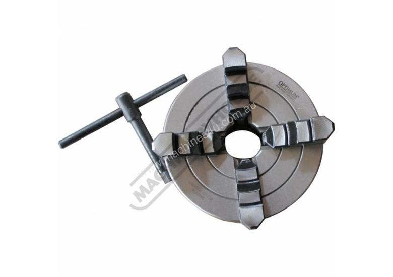 Suits TU-2506V 4 Jaw Independent Lathe Chuck Ø125mm Back Plate Mount