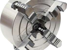 Suits TU-2506V 4 Jaw Independent Lathe Chuck Ø125mm Back Plate Mount - picture0' - Click to enlarge
