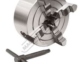 Suits TU-2506V 4 Jaw Independent Lathe Chuck Ø125mm Back Plate Mount - picture2' - Click to enlarge