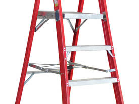 1.5m Fiberglass Platform Step Ladder