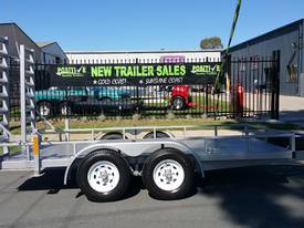 12ft Plant Machinery Trailer 4.5 Tonne Tandem Axle - picture1' - Click to enlarge