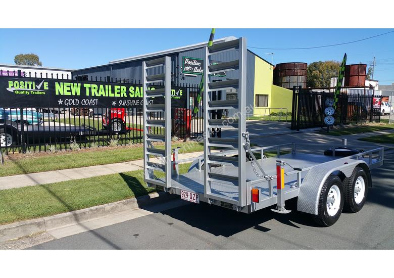 12ft Plant Machinery Trailer 4.5 Tonne Tandem Axle