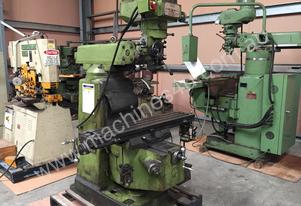 Used Delta 3VH Turret Milling Machine