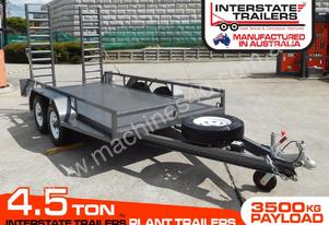 PLANT TRAILERS 4.5 TON 1860mm x 4000mm Floor space