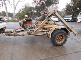 3ton cable drum trailer , 1cyl diesel , galverised - picture0' - Click to enlarge