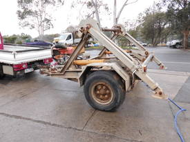 3ton cable drum trailer , 1cyl diesel , galverised - picture1' - Click to enlarge