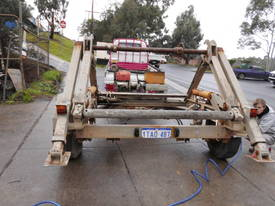 3ton cable drum trailer , 1cyl diesel , galverised - picture2' - Click to enlarge