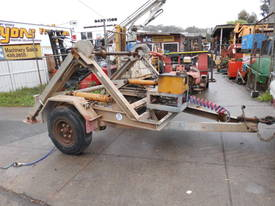 3ton cable drum trailer , 1cyl diesel , galverised - picture3' - Click to enlarge