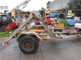 3ton cable drum trailer , 1cyl diesel , galverised - picture4' - Click to enlarge
