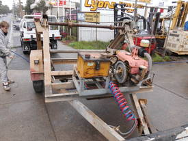 3ton cable drum trailer , 1cyl diesel , galverised - picture5' - Click to enlarge
