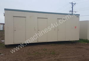 As New Used 7.2m x 2.4m Ablution