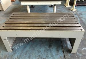 Tee Slot Table Solid Cast Iron