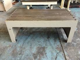 Tee Slot Table Solid Cast Iron - picture2' - Click to enlarge