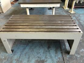 Tee Slot Table Solid Cast Iron - picture0' - Click to enlarge