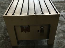 Tee Slot Table Solid Cast Iron - picture3' - Click to enlarge