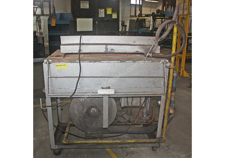 Gas Fired Heat Treatment Oven Furnace Forge Blacks
