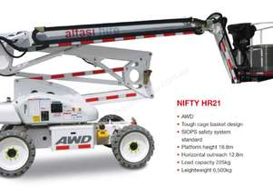 Niftylift NIFTY HR21