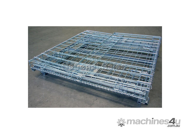 New Or Unknown Wire Mesh Storage Cages Pallet Dispenser in PERTH, WA ...