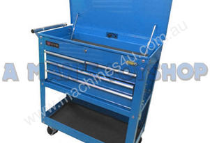 Farmtec TOOL CART 4 DRAWER BLUE