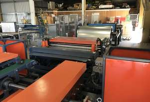 HVAC 1600mm Wide Full Auto HVAC Duct Production Line - Heavy Duty Professional Series