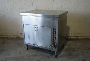 Compact Stainless Steel Bain Marie Hot Cupboard