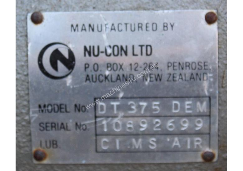 Nu-Con Rotary valve airlock seal