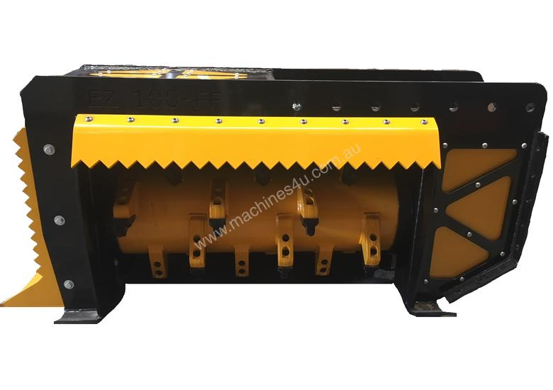 Fixed Flail Forestry Mulcher 8-12 T Excavator
