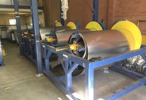 Used Duct Full Automatic L Shape Production Line