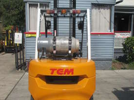 TCM 3 ton LPG, Weight Gauge,  Used Forklift - picture3' - Click to enlarge