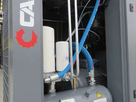 CAPS CR15-13 15kW 53cfm 13Bar Base Mount Rotary Screw Air Compressor - picture0' - Click to enlarge