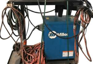Miller Pipe Pro 450 RFC Twin Gun MIG Welder cw Pipepro DX Wire Feeder