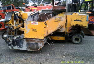 Kerbimg machine , 2.5ton , 50hp , 8WD , 3000 hrs , ex council
