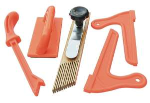 Carbatec Five Piece Safety Kit