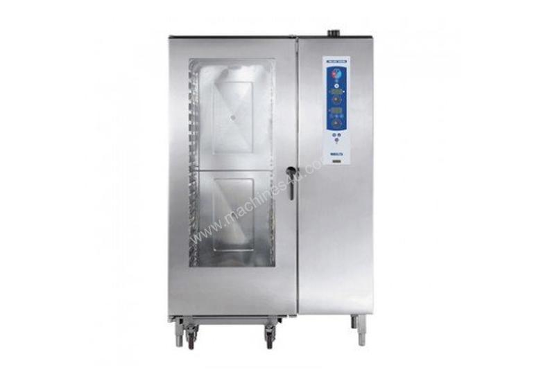 """Blue Seal S Line E40CSDW - 40 Tray Electric Combination Steamer """" Fully Automatic Wash System"""