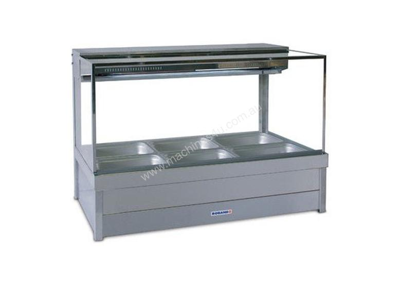 Roband SFX24RD Square Glass Cold Food Bar