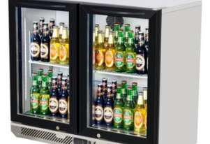 Turbo Air TB9-2G (900) BACK BAR BOTTLE COOLER Refrigerator