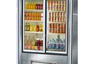 Glass 2 Door Drinks Refrigerator (Sliding Doors)