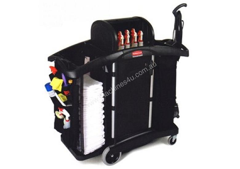 RUBBERMAID 9T76 Compact Folding Housekeeping Cart