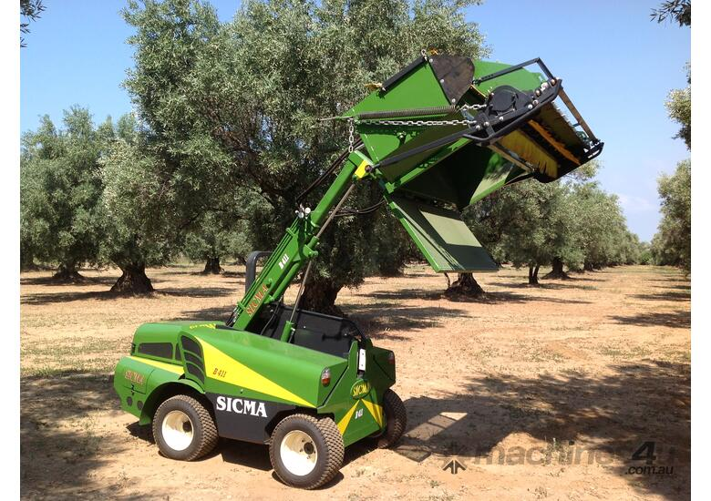 B411 MULTI PURPOSE OLIVE & NUT HARVESTER
