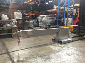 Forklift Lifting Jib Extents to 3.5m Tilt 2.4m Height 4750kg Capacity - picture1' - Click to enlarge