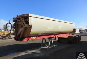 2013 AZMEB GLOBAL TRI AXLE SIDE TIPPING 'A' TRAILER