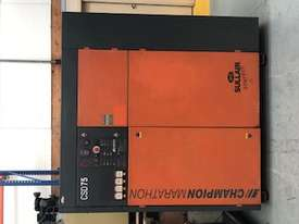 ***SOLD*** Champion CSD75 Rotary Screw Compressor - picture2' - Click to enlarge