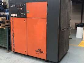 ***SOLD*** Champion CSD75 Rotary Screw Compressor - picture0' - Click to enlarge